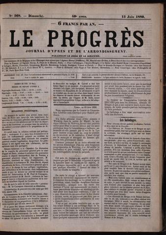 Le Progrès (1841-1914) 1880-06-13