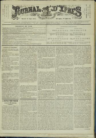 Journal d'Ypres (1874 - 1913) 1877-08-18