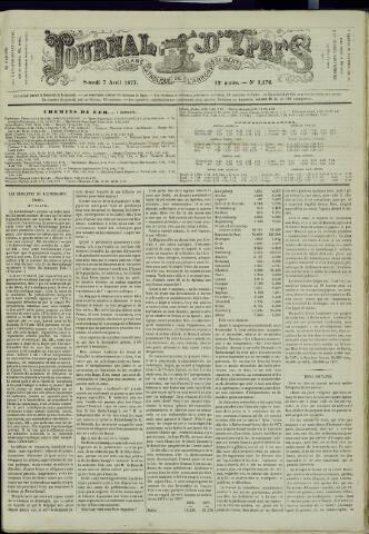 Journal d'Ypres (1874 - 1913) 1877-04-07