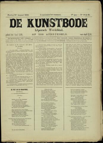 De Kunstbode (1880 - 1883) 1882-08-20