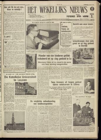 Het Wekelijks Nieuws (1946-1990) 1956-05-26