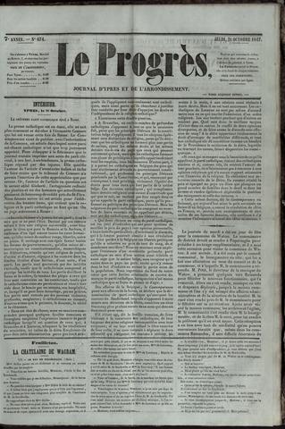 Le Progrès (1841-1914) 1847-10-21
