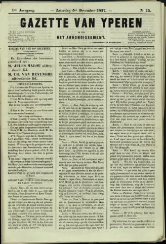 Gazette van Yperen (1857-1862) 1857-12-06