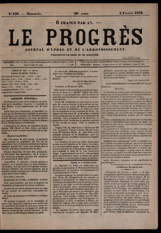 Le Progrès (1841-1914) 1879-02-02