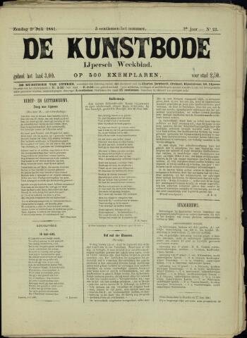 De Kunstbode (1880 - 1883) 1881-07-03