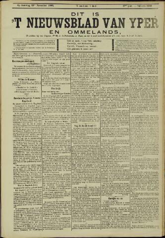 Nieuwsblad van Yperen en van het Arrondissement (1872 - 1912) 1902-10-29