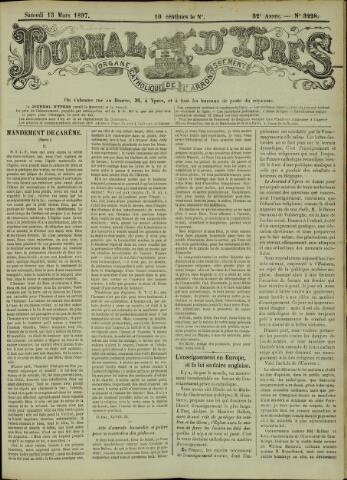 Journal d'Ypres (1874 - 1913) 1897-03-13