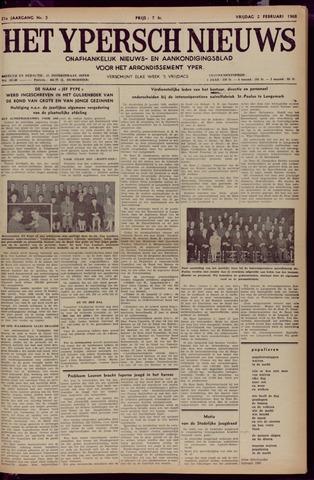 Het Ypersch nieuws (1929-1971) 1968-02-02