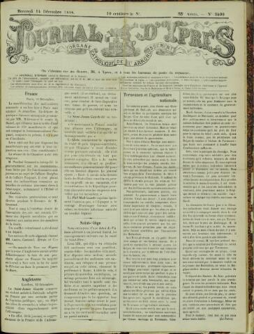 Journal d'Ypres (1874 - 1913) 1898-12-14