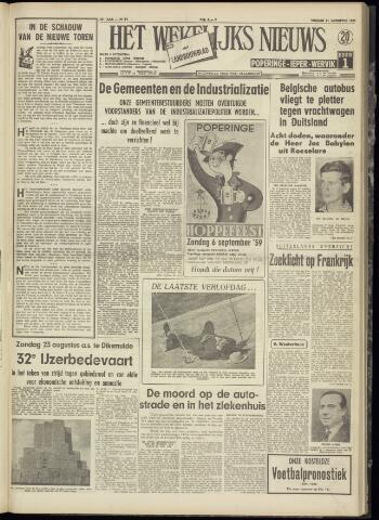 Het Wekelijks Nieuws (1946-1990) 1959-08-21