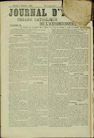 Journal d'Ypres (1874 - 1913) 1906-09-08