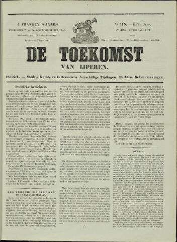De Toekomst (1862 - 1894) 1872-02-04