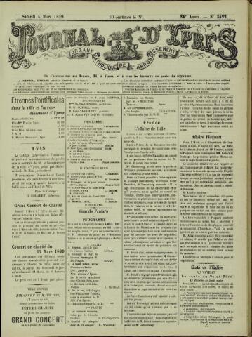Journal d'Ypres (1874 - 1913) 1899-03-04
