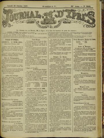 Journal d'Ypres (1874 - 1913) 1897-10-23