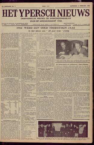Het Ypersch nieuws (1929-1971) 1965-02-06