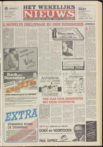 Het Wekelijks Nieuws (1946-1990) 1985-10-04