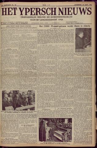 Het Ypersch nieuws (1929-1971) 1961-06-24
