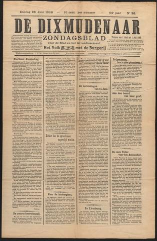 De Dixmudenaar 1908-06-28
