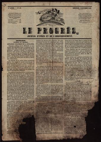 Le Progrès (1841-1914) 1841-10-10
