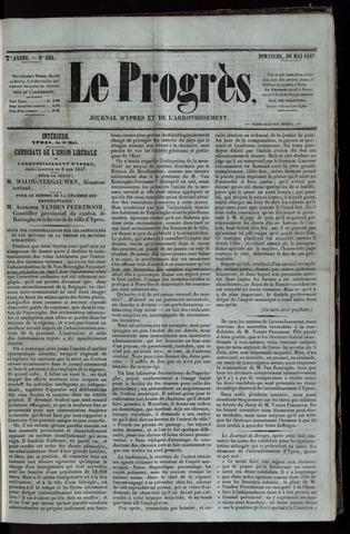 Le Progrès (1841-1914) 1847-05-30