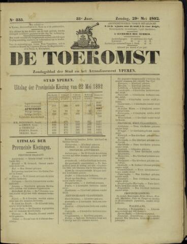 De Toekomst (1862 - 1894) 1892-05-29
