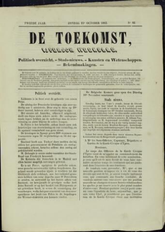 De Toekomst (1862 - 1894) 1863-10-25