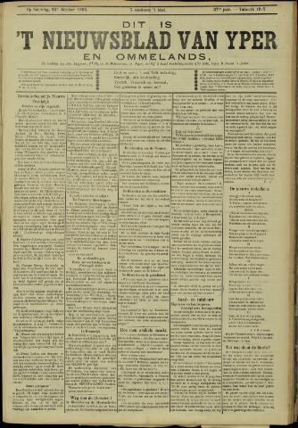 Nieuwsblad van Yperen en van het Arrondissement (1872 - 1912) 1902-10-25
