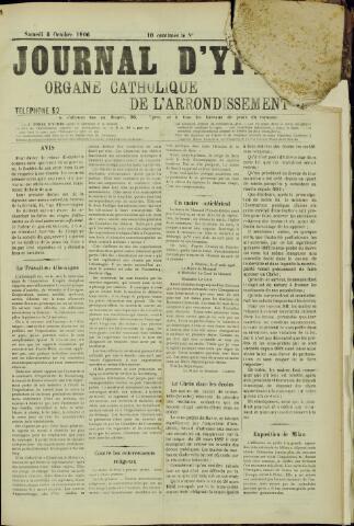 Journal d'Ypres (1874 - 1913) 1906-10-06