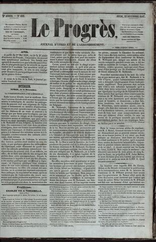 Le Progrès (1841-1914) 1847-12-23