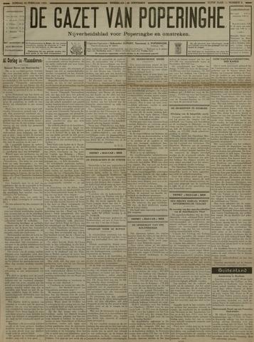De Gazet van Poperinghe  (1921-1940) 1931-02-22