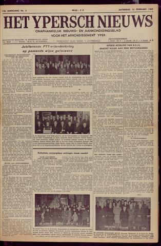 Het Ypersch nieuws (1929-1971) 1965-02-13