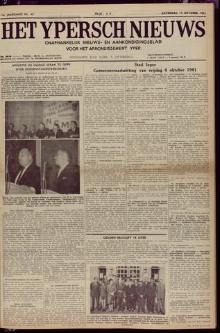 Het Ypersch nieuws (1929-1971) 1961-10-14