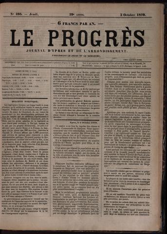 Le Progrès (1841-1914) 1879-10-02