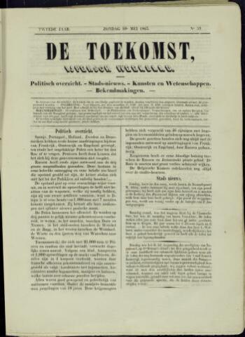 De Toekomst (1862 - 1894) 1863-05-10