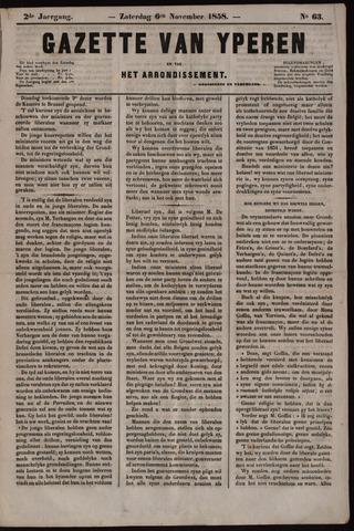 Gazette van Yperen (1857-1862) 1858-11-06