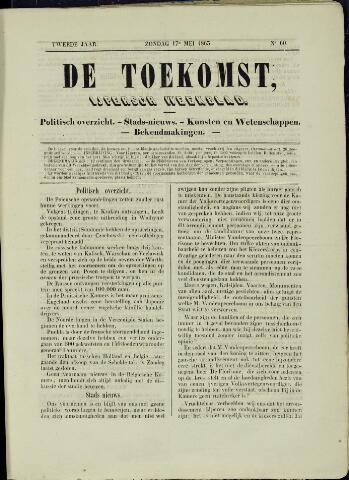 De Toekomst (1862 - 1894) 1863-05-17