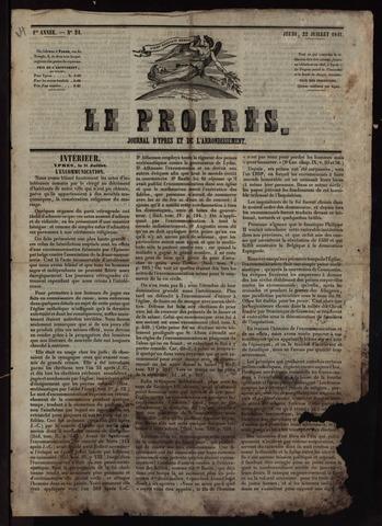 Le Progrès (1841-1914) 1841-07-22