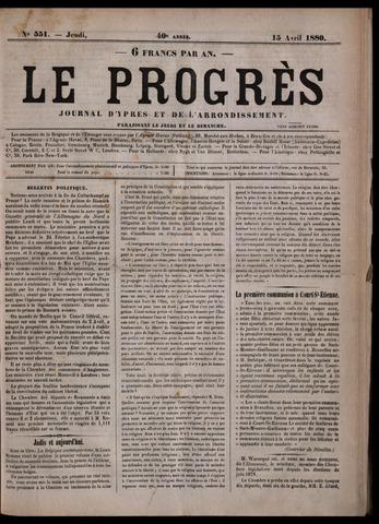 Le Progrès (1841-1914) 1880-04-15