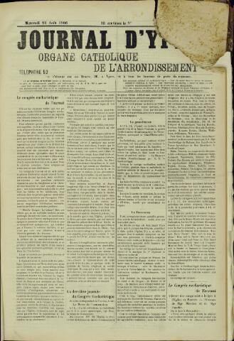 Journal d'Ypres (1874 - 1913) 1906-08-22