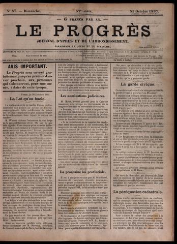 Le Progrès (1841-1914) 1897-10-31