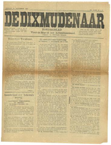 De Dixmudenaar 1927-11-13