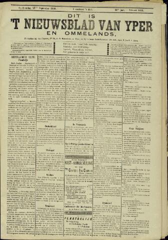 Nieuwsblad van Yperen en van het Arrondissement (1872 - 1912) 1899-09-23