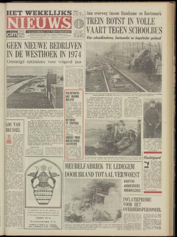 Het Wekelijks Nieuws (1946-1990) 1974-11-15