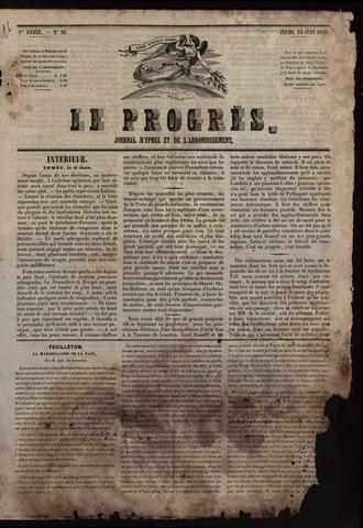 Le Progrès (1841-1914) 1841-06-24