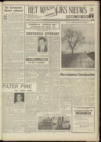 Het Wekelijks Nieuws (1946-1990) 1958-11-21