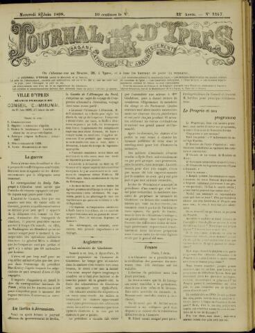 Journal d'Ypres (1874 - 1913) 1898-06-08