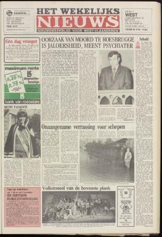 Het Wekelijks Nieuws (1946-1990) 1984-10-26