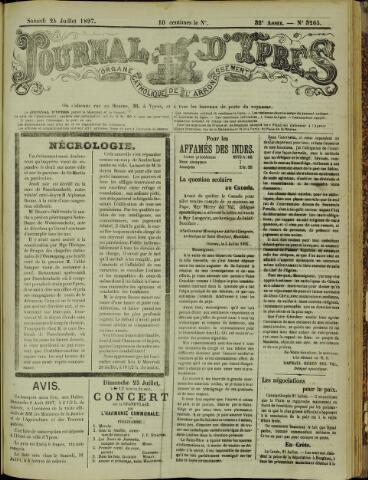 Journal d'Ypres (1874 - 1913) 1897-07-24