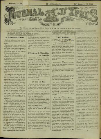 Journal d'Ypres (1874 - 1913) 1897-05-12