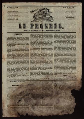 Le Progrès (1841-1914) 1841-08-26